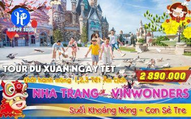 TOUR NHA TRANG - VINWONDER 3 NGÀY 3 ĐÊM