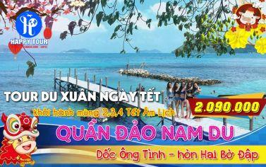 TOUR NAM DU 2 NGÀY 2 ĐÊM
