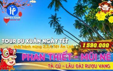 TOUR PHAN THIẾT - MŨI NÉ 2 NGÀY 1 ĐÊM
